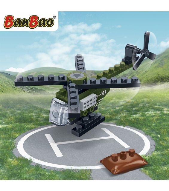 Set constructie Trupele speciale elicopter, Banbao