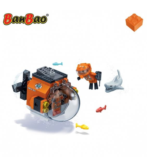 Set constructie Duncans's Treasure mini submarin, Banbao