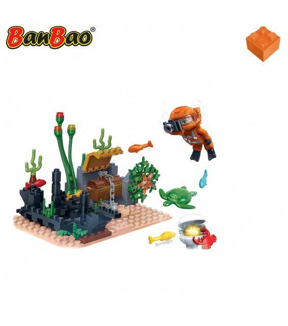 Set constructie Duncans's Treasure comoara subacvatica, Banbao