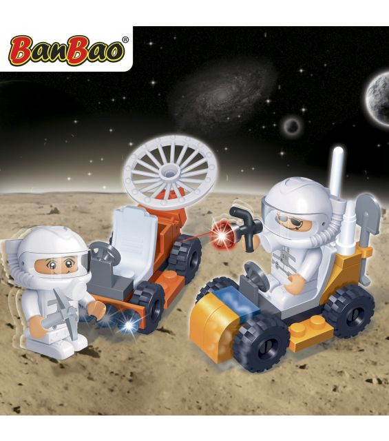 Set constructie Astronauti, Banbao