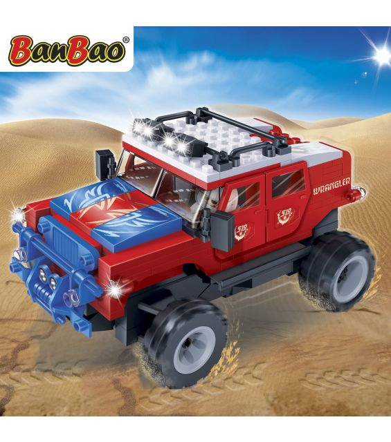 Set constructie Red Furry, Banbao
