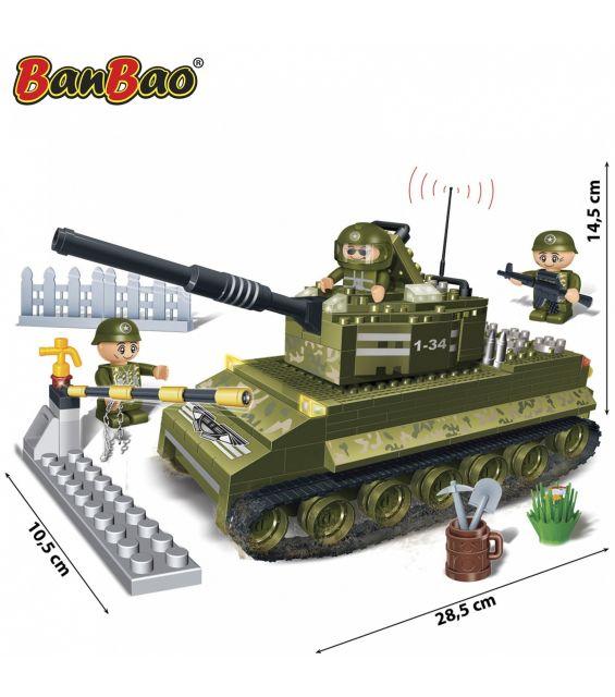 Set constructie Tanc cu senile (1), Banbao