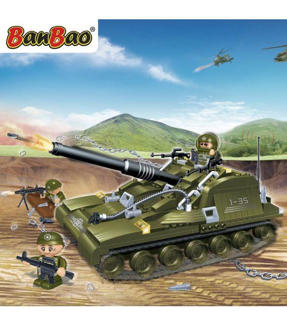 Set constructie Tanc cu senile (2), Banbao