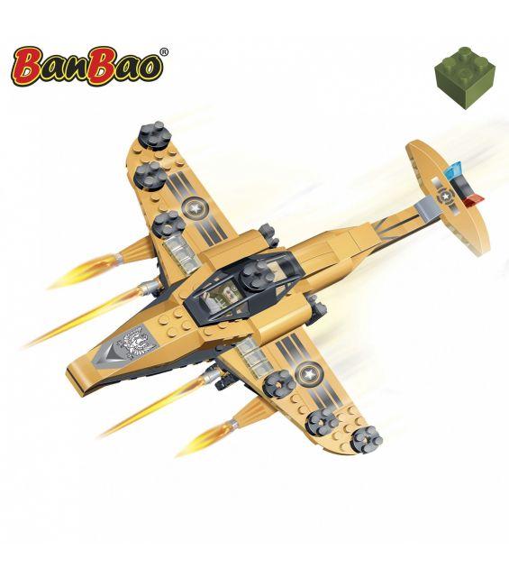 Set constructie Avion militar mare, Banbao