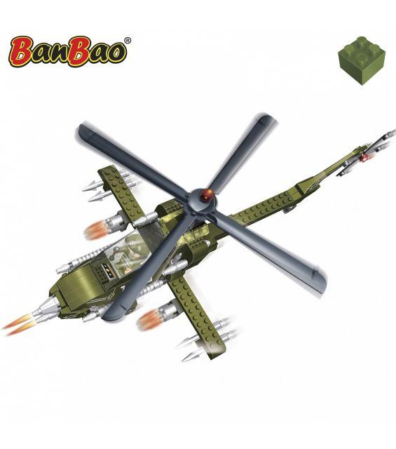Set constructie Elicopter militar mare, Banbao