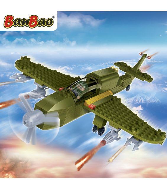 Set constructie Avion militar mic, Banbao