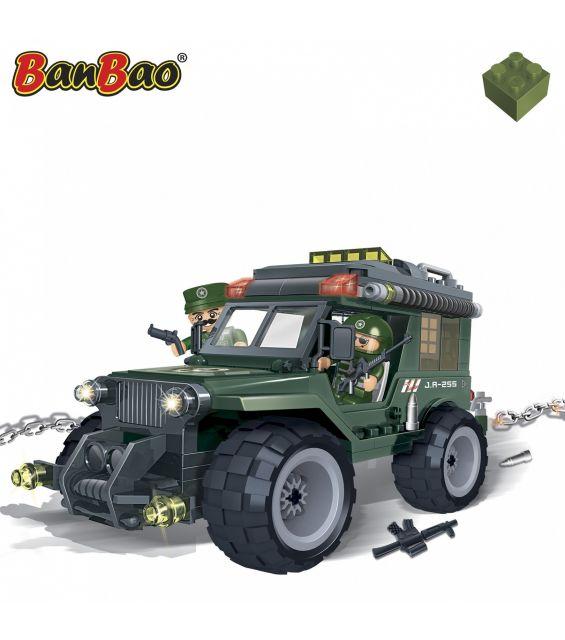 Set constructie Camion armata, Banbao