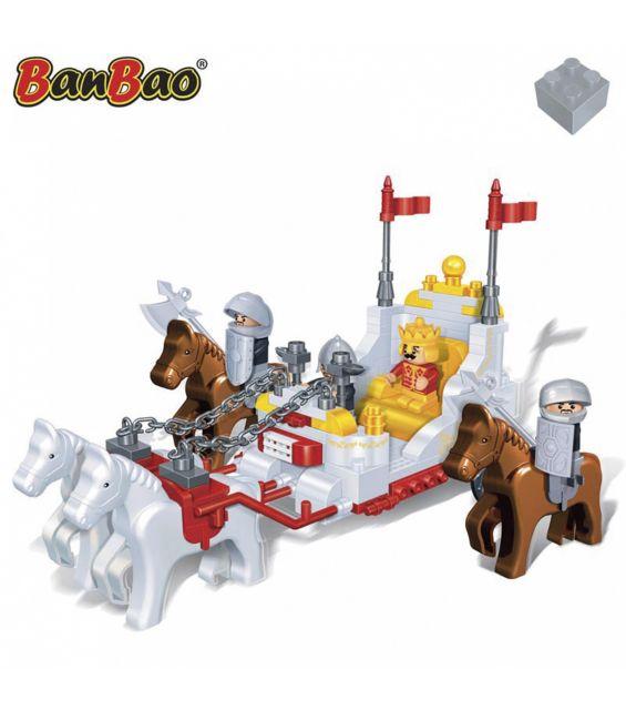 Set constructie Caleasca regala, Banbao