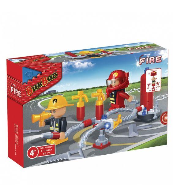 Set constructie Interventie pompieri, Banbao