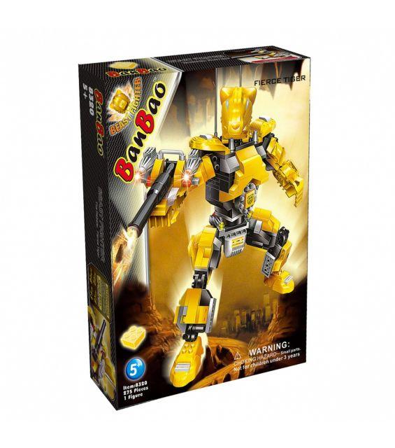 Set constructie Robot Fierce Tiger, Banbao
