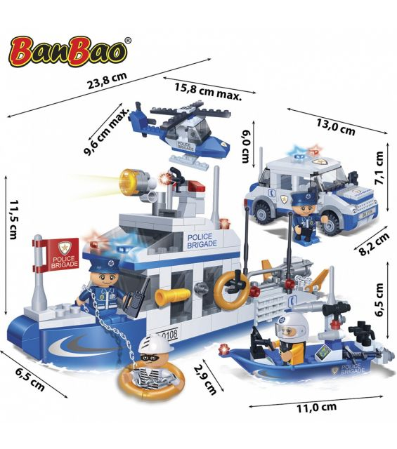 Set constructie Interventie politie, Banbao