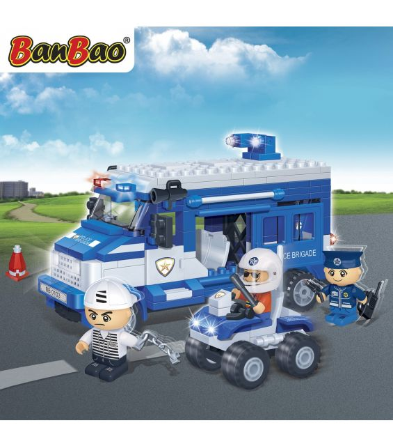 Set constructie Duba politie, Banbao