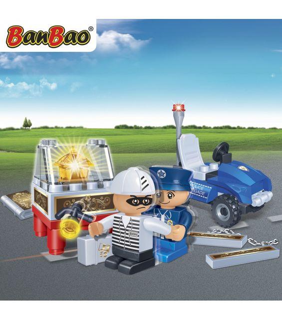 Set constructie Echipaj politie, Banbao