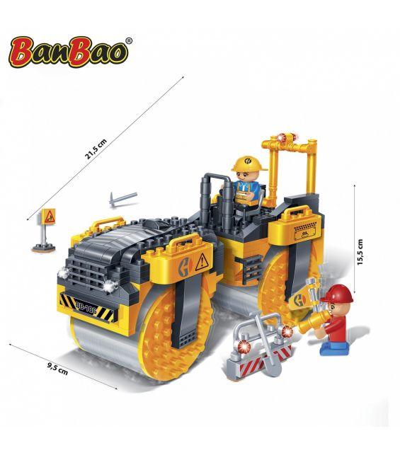 Set constructie Compactor asfalt, Banbao
