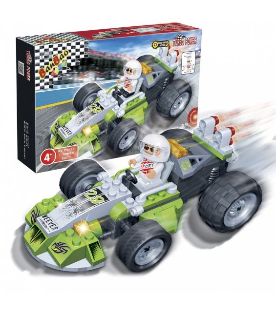 Set constructie Racer Weever, Banbao