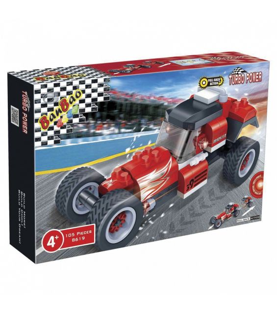 Set constructie Racer Roadster, Banbao