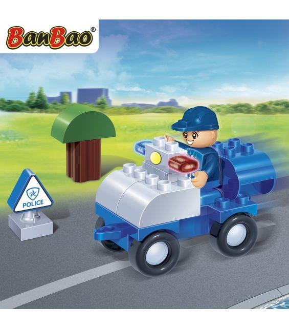 Set constructie Masina politie young, Banbao
