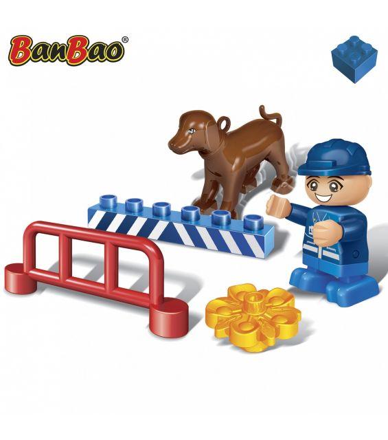 Set constructie Caine politie young, Banbao