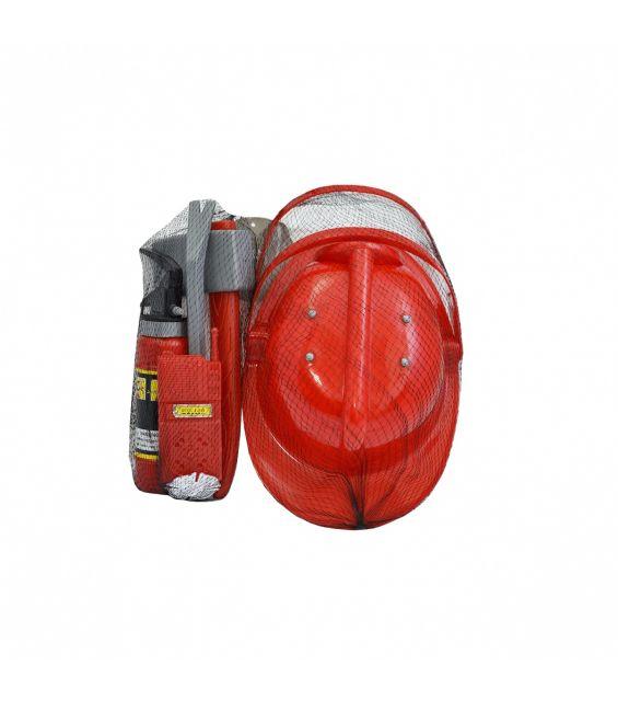 Set pompieri cu extinctor activ