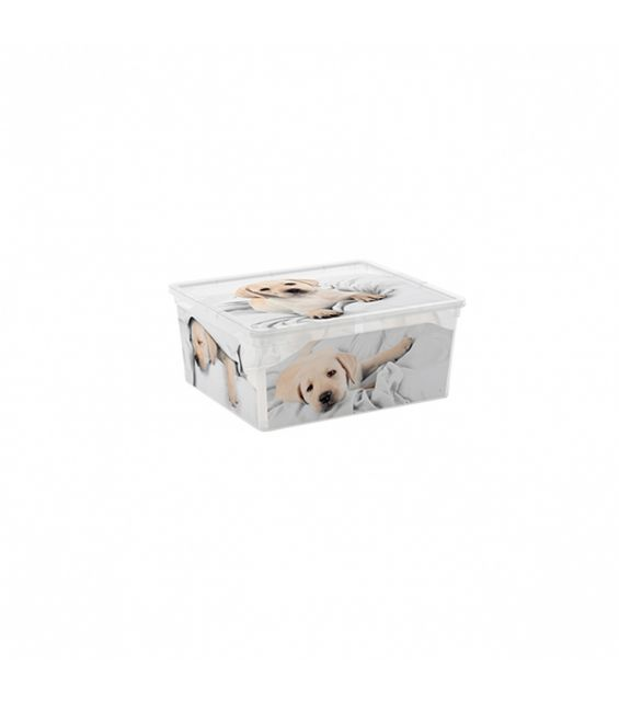 Cutie depozitare, 18 litri, C Box, Puppy&Kitten M