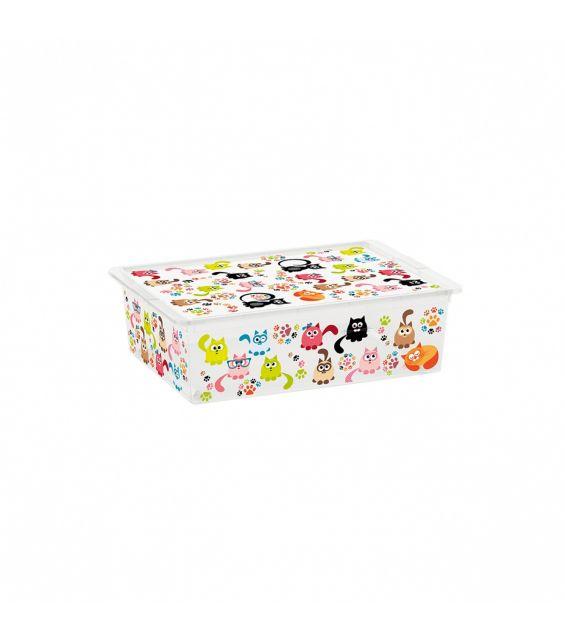 Cutie depozitare, 27 litri, C Box, Cute Animals L