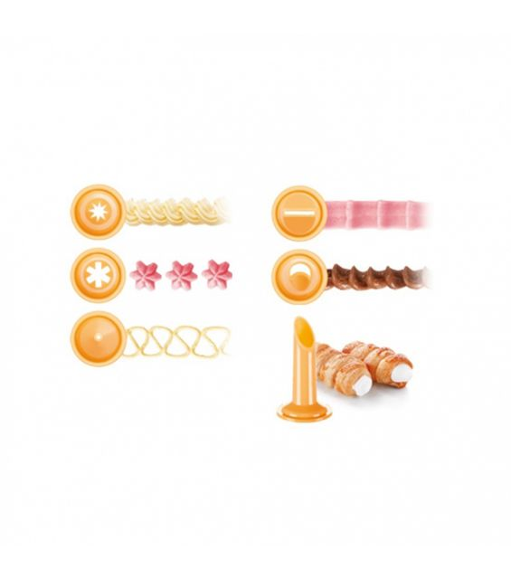 Set 10 pungi pentru decorat, 30 cm, Delicia
