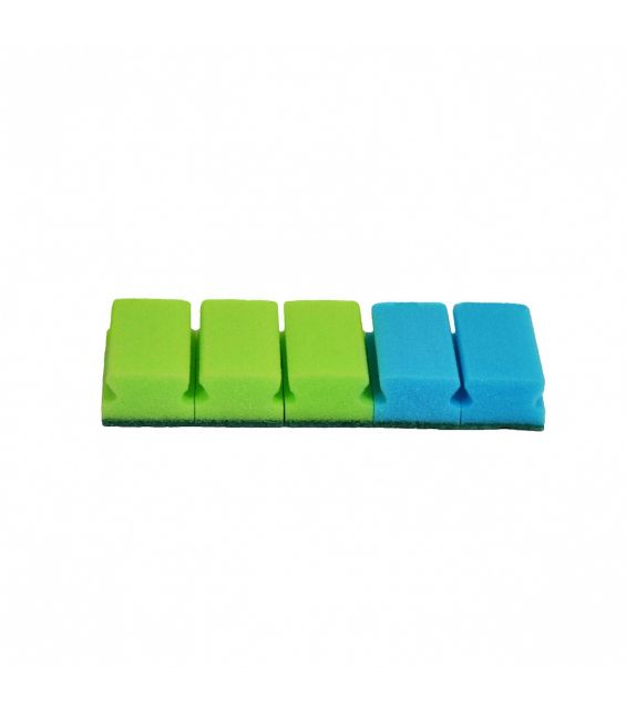 Set 5 bureti canelati, 9,4x6 cm