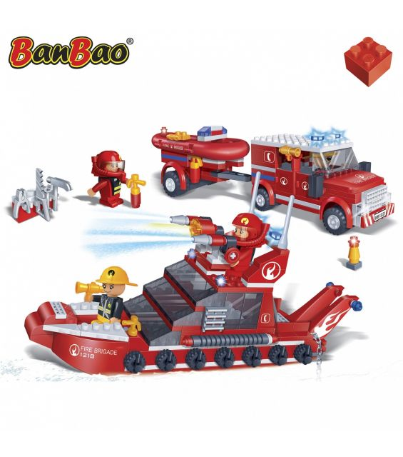 Set constructie Interventie pe mare si pe pamant, Banbao