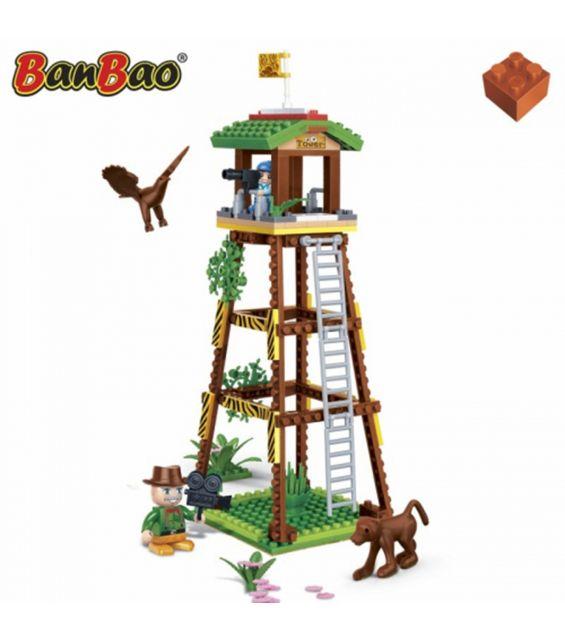 Set constructie Safari, turn de observatie, Banbao