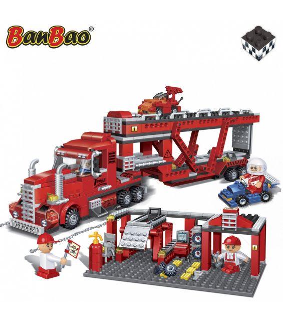 Set constructie Service auto cu platforma, Banbao