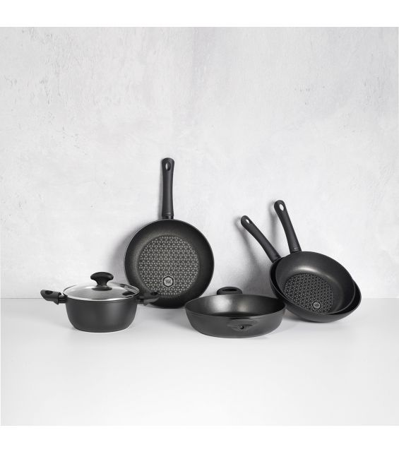 Tigaie wok, diametru 28 cm, Diamante Induction